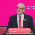 """Corbyn promises end to """"bomb first, talk later"""" foreign policy in Labour manifesto"""