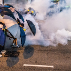 Britain's move to suspend military training for Hong Kong police 'must serve as a turning point'