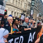 Pictures: Jeremy Corbyn attends People's Assembly demonstration in London