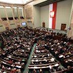 Does Poland's ruling party still have a parliamentary majority?